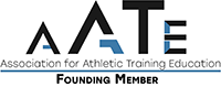 Association for Athletic Training Education Founding Member logo