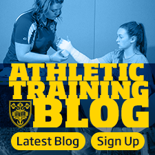 Athletic Training Blog - Sign Up