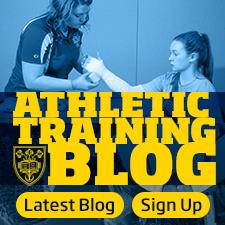 Athletic Training Blog - Sign Up
