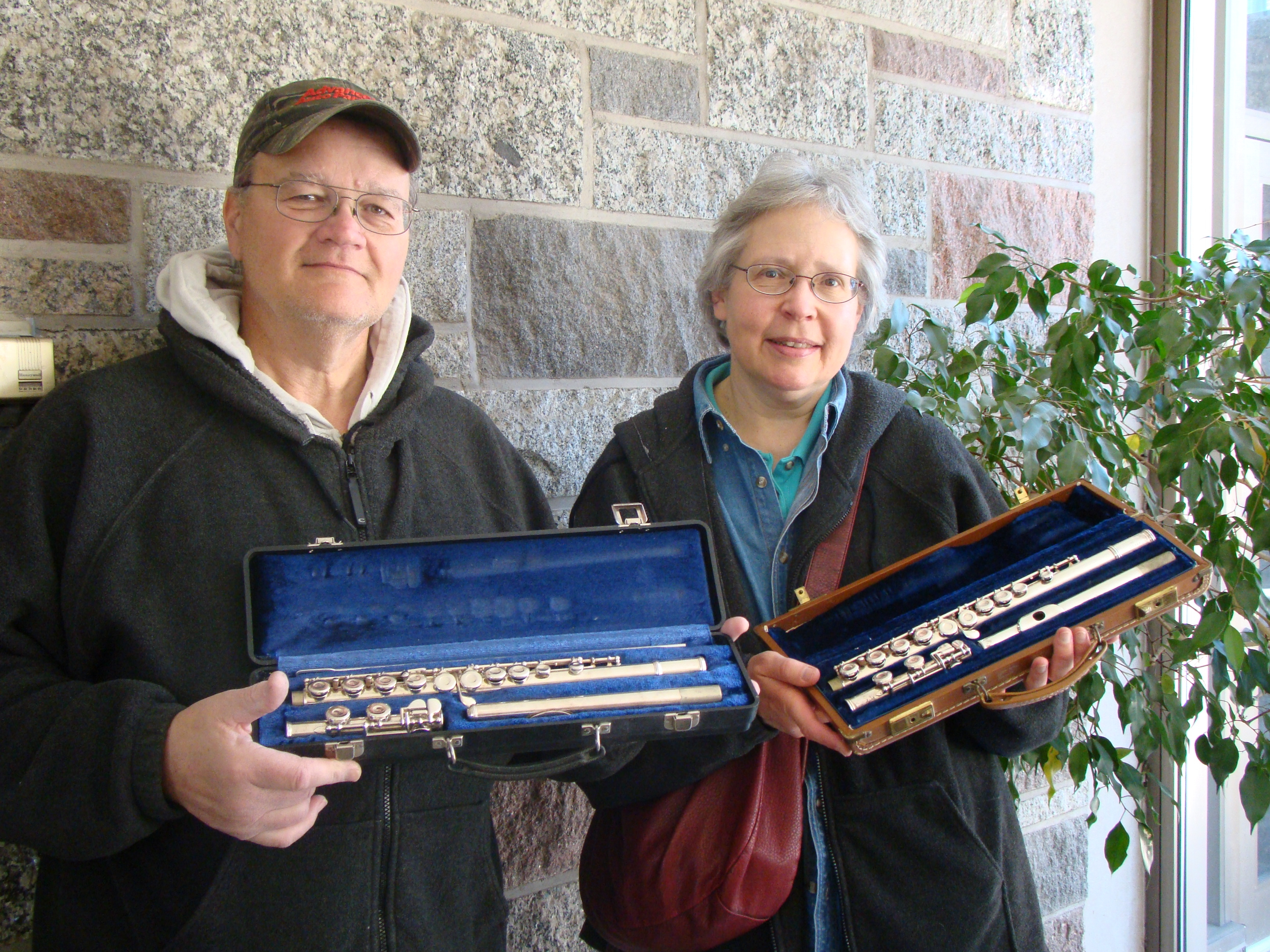 Proud donators to the instrument drive.