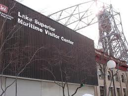 The Lake Superior Maritime Visitor Center is located in Canal Park.