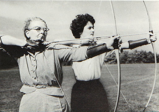 Archery was just one of the