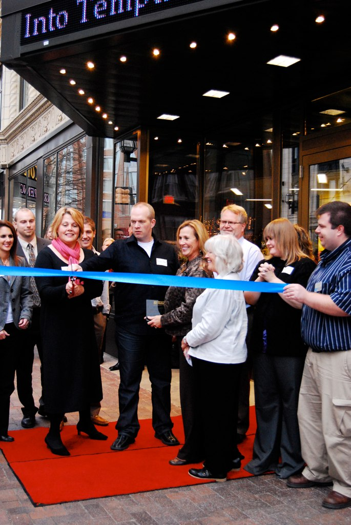The Zeitgest Arts complex celebrated its grand opening in November.