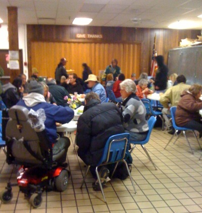 The Duluth Union Gospel Mission provides 3 meals a day for those in need.