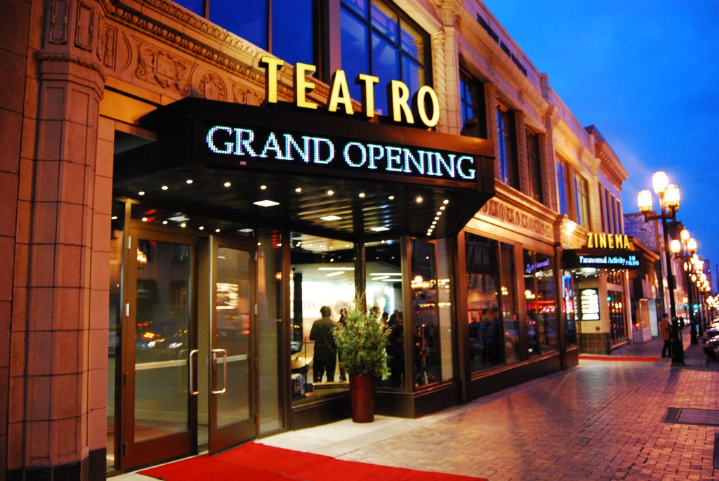 The Theatro Zuccone had its Grand Opening recently.