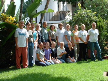 2003 Service Learning Group