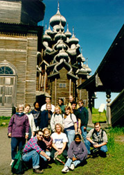 Russia Study Abroad Group