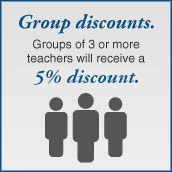 Group discounts.