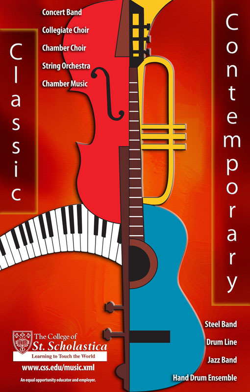Music Department Poster