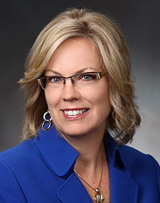 Portrait of Julie Anderson, Dean, School of Nursing