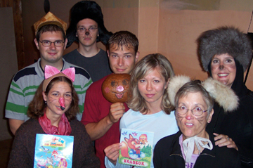 Russian Language Study Tour Students