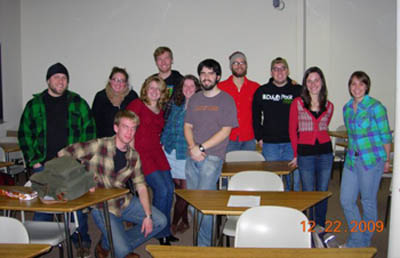 The Club's first meeting, spring 2009