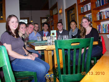 Farewell to graduating club members, spring 2010