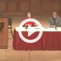 video thumbnail showing the Ethics and the Economics of Housing speakers during Part 3 of the presentation