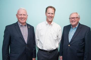 Sandy Sandbulte, Rick Revoir, Bruce Stender