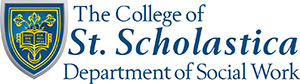 The College of St. Scholastica Department of Social Work logo
