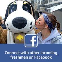 Connect with other incoming freshmen on Facebook.