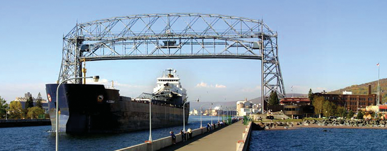 Ship in Canal Park, Duluth