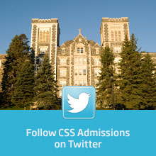 Follow CSS Admissions on Twitter