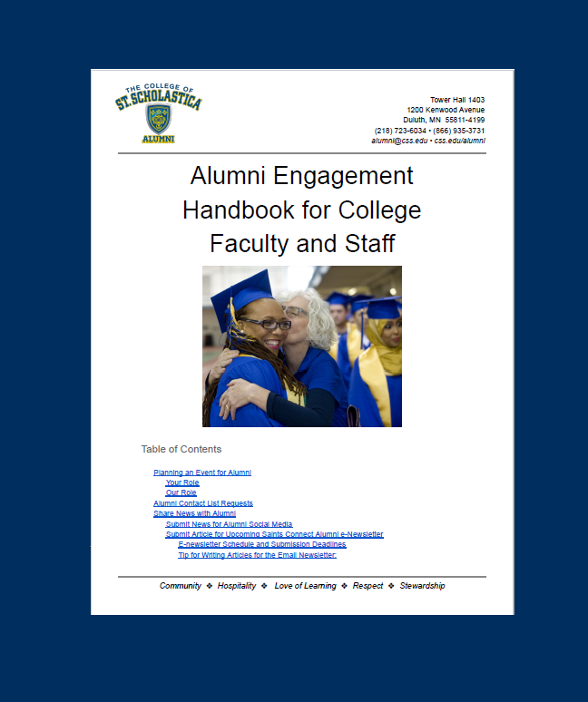 Faculty and Staff Resources
