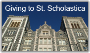 Giving to St. Scholastica