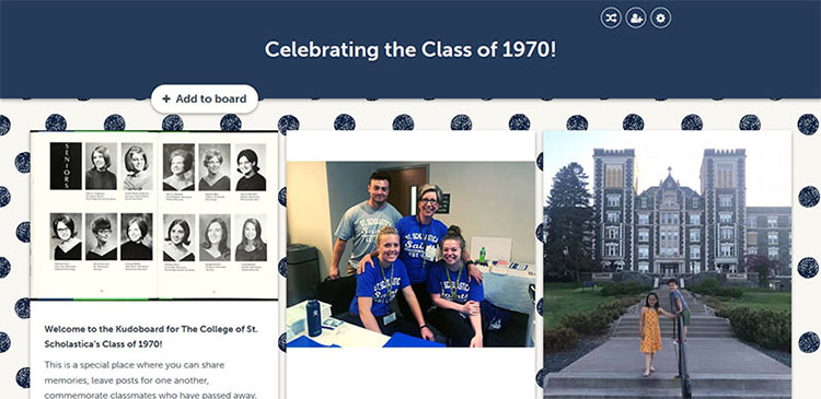 Share your messages of congraulation with the Class of 1970!