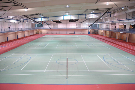 Burns Wellness Commons Fieldhouse
