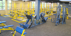 Burns Wellness Commons Weight Room