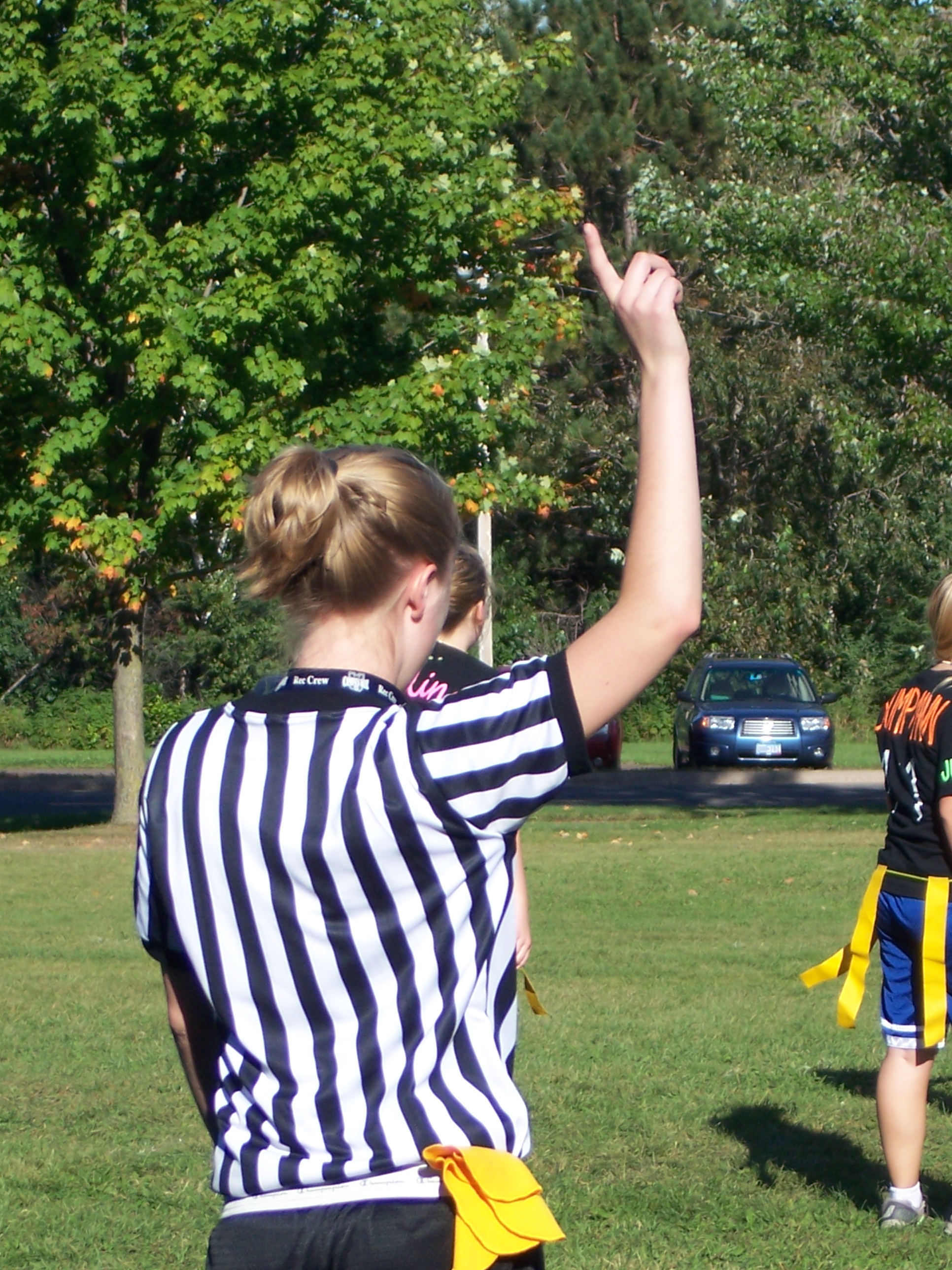Intramural Flag Football Official