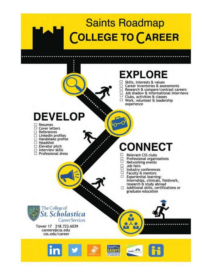 The College of St  Scholastica - Job Search Handbook