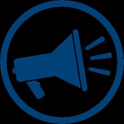 Megaphone Icon - indicating communication