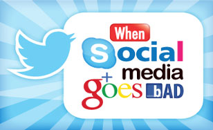 """When social media goes bad"". Photo credit to acu.edu.au"