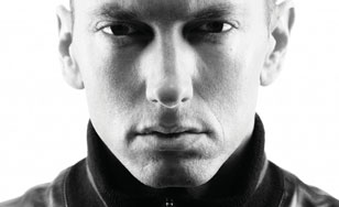 Eminem has matured his look and his lyrics. Photo credit to sfcredit.com.