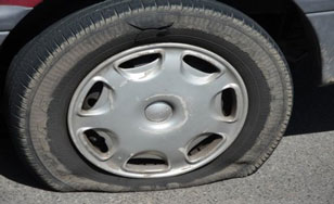 Tires keep getting slashed at The College of St. Scholastica.