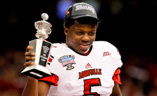 QB Teddy Bridgewater. Photo credit to thecruchzone.com