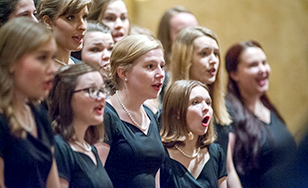 File photo of St. Scholastica choir