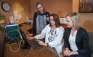 Forty-one alumni work at Community Memorial Hospital in Cloquet.