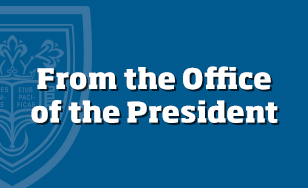 From the Office of the President
