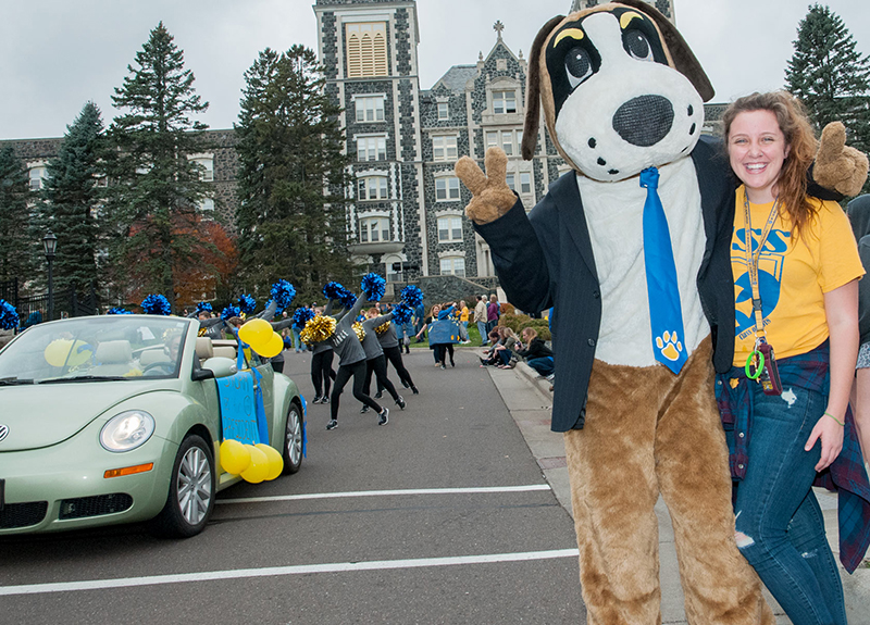 "The campus community is celebrating Homecoming 2016 with a ""Storm for President"" theme."