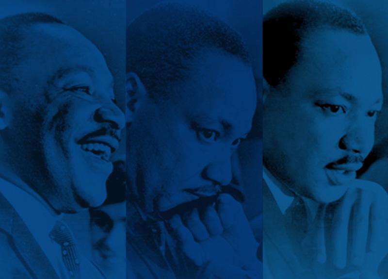 Images of Dr. Martin Luther King, Jr.