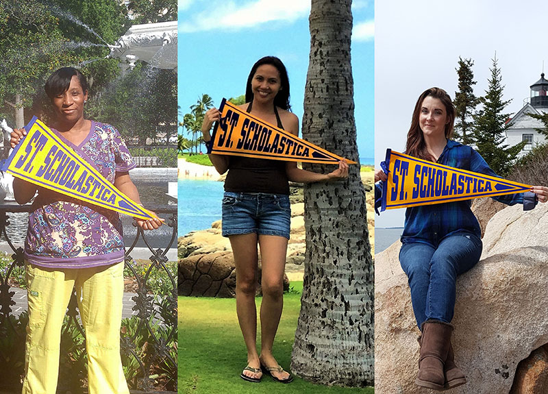 From left: Shannon Davis in Savannah; Gerlie Matahum in Hawaii; Amanda Reid in Maine.