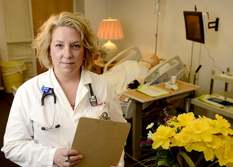 PA program director Dr. Kim Kruger.