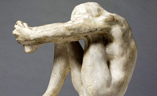 "Sculptor Auguste Rodin's ""Despair"""