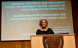 Roni Ellington describes best practices in STEM education outreach.
