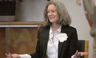 Sharon Olds (Photo courtesy of Bemidji State University)