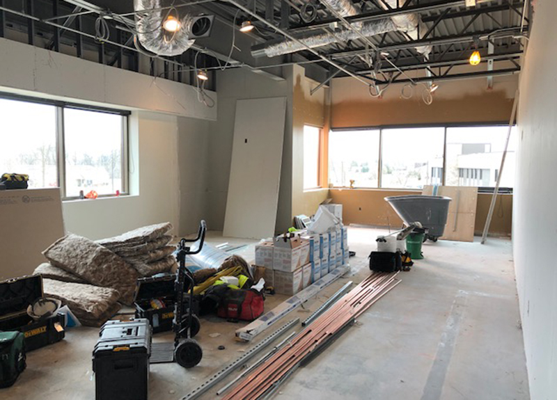 Renovations on the St. Cloud campus space