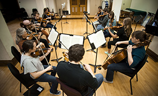 File photo - string ensemble
