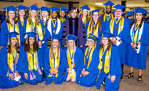 The Honors College class of 2019