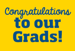 Congraduations to our grads!