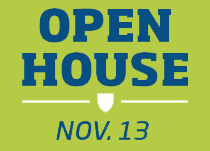 Open House | October 20, 2016 | Click here to register.